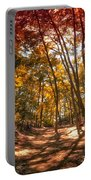 Autumn In The Dunes Portable Battery Charger