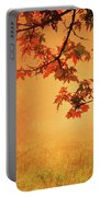 Autumn In The Fog. Portable Battery Charger