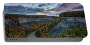 Autumn In The Gorge Portable Battery Charger
