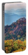 Autumn In The Great Smoky Mountains Portable Battery Charger