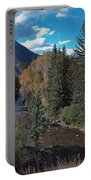 Autumn In The Rockies Portable Battery Charger