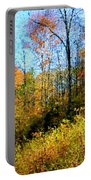 Autumn In The Tennessee Hills Portable Battery Charger