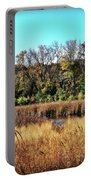 Autumn In The Wetlands Portable Battery Charger