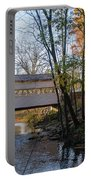Autumn In Valley Forge - Knox Covered Bridge Portable Battery Charger