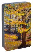 Autumn By Karen E. Francis Portable Battery Charger