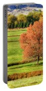 Autumn Landscape Dream Portable Battery Charger by James BO  Insogna