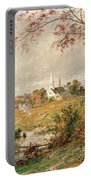 Autumn Landscape Portable Battery Charger