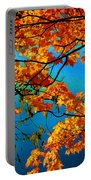 Autumn Leaves 7 Portable Battery Charger
