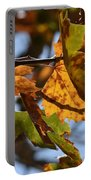 Autumn Leaves Macro 1 Portable Battery Charger