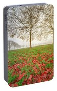 Autumn Leaves Near To Far Super High Resolution Portable Battery Charger