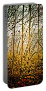 autumn Lines Portable Battery Charger