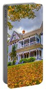 Autumn Mansion Portable Battery Charger