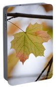 Autumn Maple Leaf Vertical Portable Battery Charger