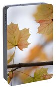 Autumn Maple Leaves Portable Battery Charger