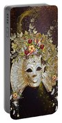 Autumn Mask Portable Battery Charger