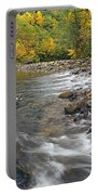 Autumn Meander Portable Battery Charger by Mike  Dawson