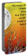 Autumn Moon Portable Battery Charger