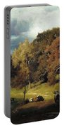 Autumn Oaks , George Inness Portable Battery Charger