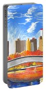 Autumn Oasis Portable Battery Charger