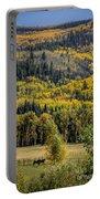 Autumn On A Colorado Range Portable Battery Charger