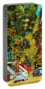 Autumn On Bagg Street Portable Battery Charger