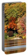 Autumn On Canoe Brook Lake Portable Battery Charger