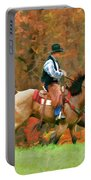 Autumn On Horseback Portable Battery Charger