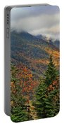 Autumn On Mount Mansfield Vermont Portable Battery Charger
