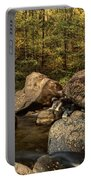 Autumn On The Creek  Portable Battery Charger