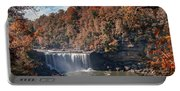 Autumn On The Cumberland  Cumberland Falls Portable Battery Charger