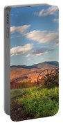 Autumn On The Farm Panorama Portable Battery Charger