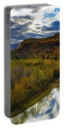 Autumn On The Genesee Portable Battery Charger
