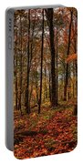 Autumn On The Ice Age Trail Portable Battery Charger