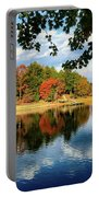 Autumn On The Lake  Portable Battery Charger