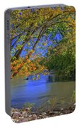 Autumn On The North Raccoon Portable Battery Charger