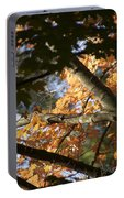 Autumn Orange Trees 2015 Portable Battery Charger