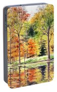 Autumn Oranges Portable Battery Charger