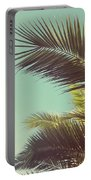 Autumn Palms Portable Battery Charger