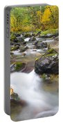 Autumn Passing Portable Battery Charger