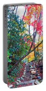 Autumn Pathway Portable Battery Charger