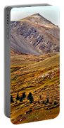 Autumn Peaks In The Rockies Portable Battery Charger