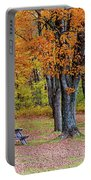Autumn Picnic Portable Battery Charger