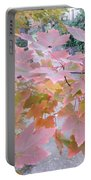 Autumn Pink Portable Battery Charger