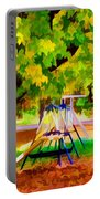 Autumn Playground 1 Portable Battery Charger