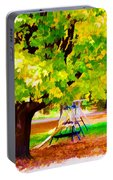 Autumn Playground Portable Battery Charger
