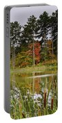 Autumn Pond Portable Battery Charger