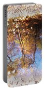 Autumn Print Portable Battery Charger