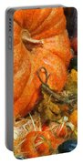 Autumn - Pumpkin - All Of My Relatives Portable Battery Charger