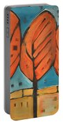 Autumn Quilt Portable Battery Charger