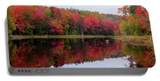 Autumn Reflected Portable Battery Charger